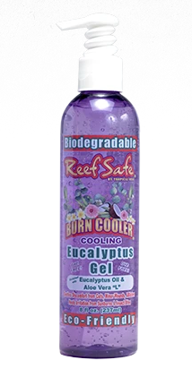 ReefSafe - Biodegradable Burn Cooler Cooling Eucalyptus Gel with Eucalyptus Oil & Aloe Vera L