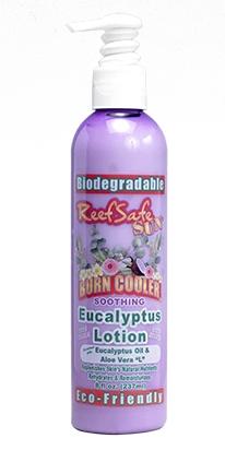 ReefSafe - Biodegradable Burn Cooler Cooling Eucalyptus Lotion with Eucalyptus Oil & Aloe Vera L