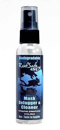 ReefSafe - Biodegradable Dive Mask Defogger & Cleanser