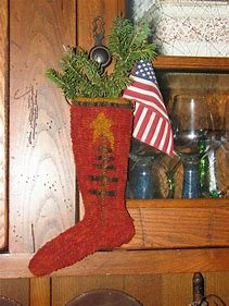 Elf Stocking