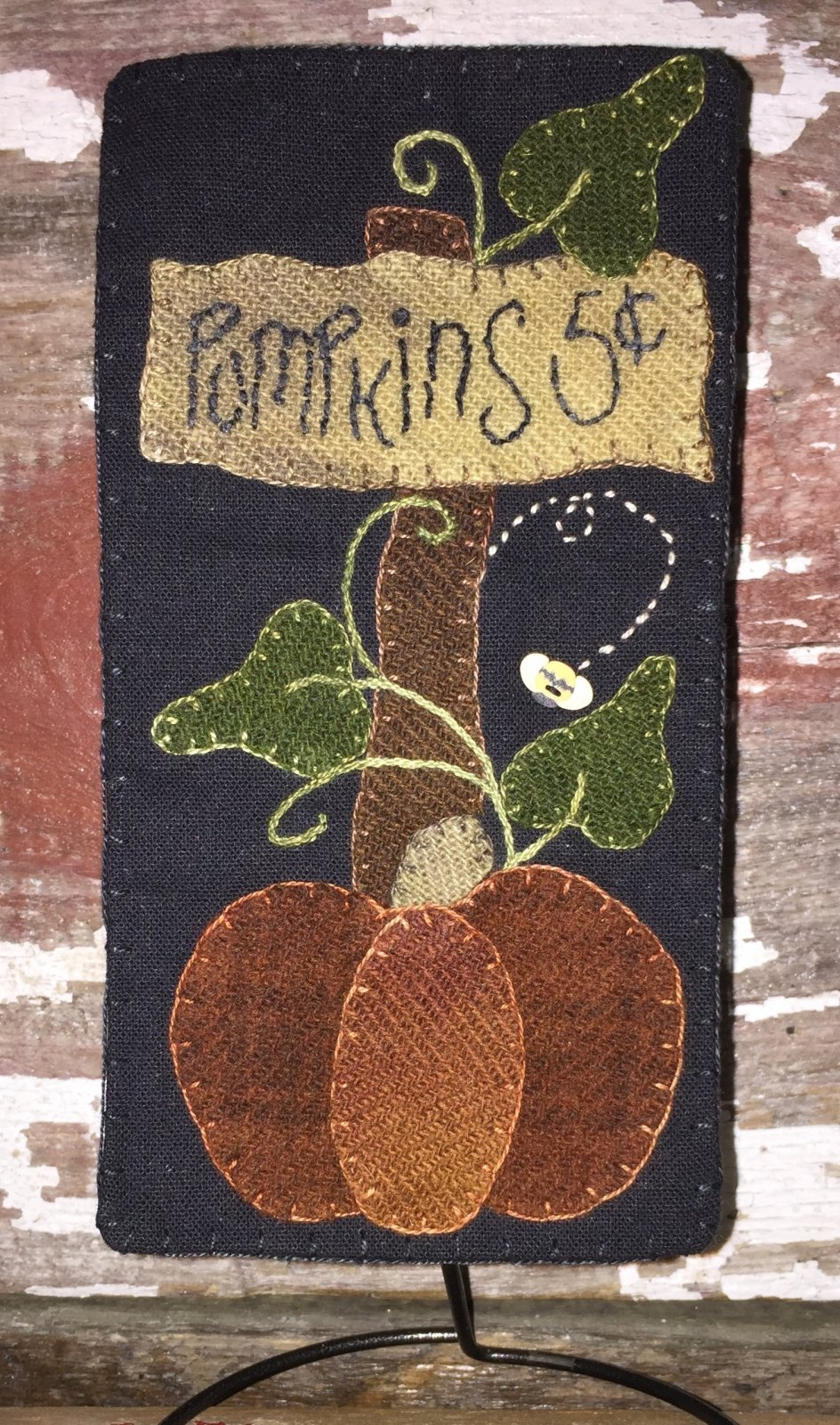 Front Porch Wool Skinnies Kit Pumpkins