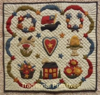 Wool Applique Quilt