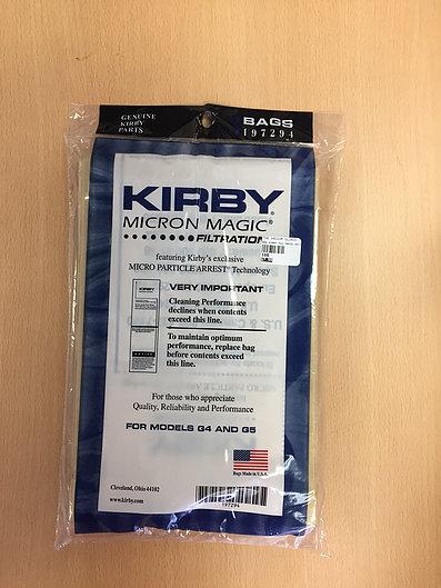 Kirby Micron Magic G4/G5 Bags - 3 pack