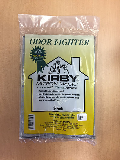Kirby Micron Bags with Charcoal - 2 pack