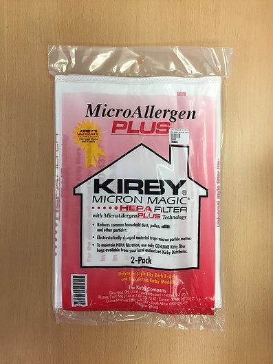 Kirby Micron Magic Hepa Bags - 2 pack