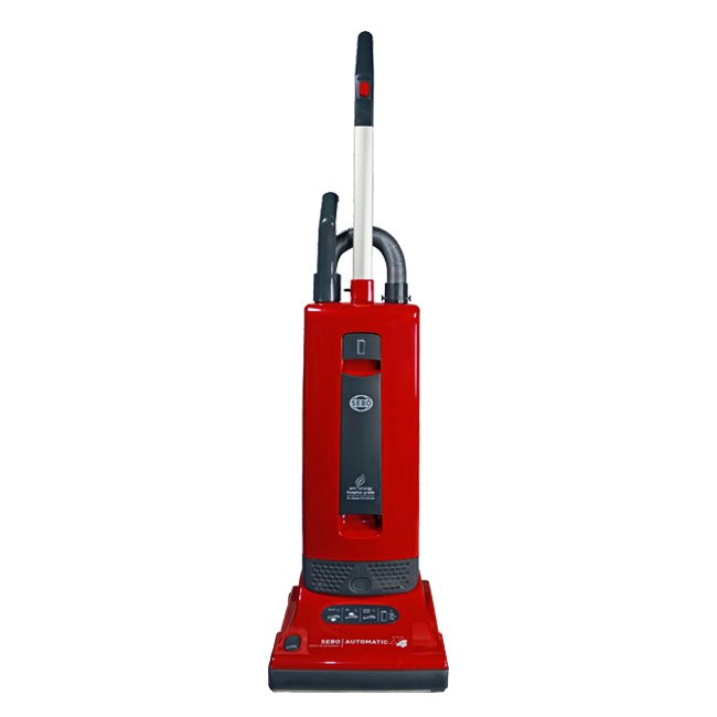 SEBO AUTOMATIC X4 Vacuum Cleaner Red/Gray