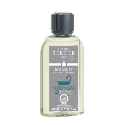 Anti-Odor Bathroom Aquatic 200ml Reed Diffuser Refill