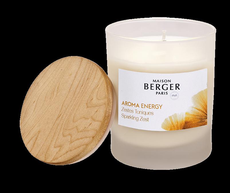 Aroma Energy Sparkling Zest Vegetal Candle