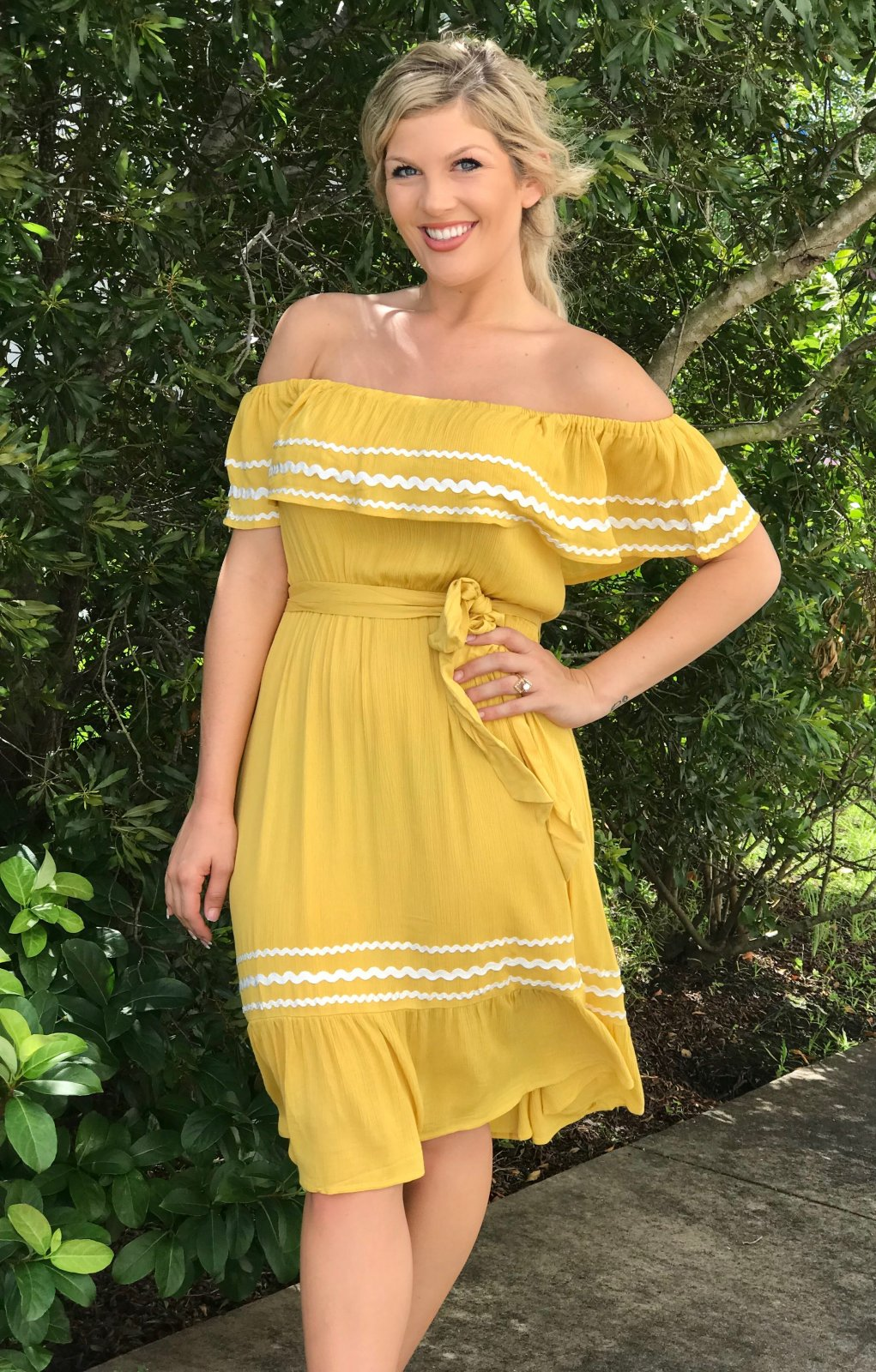 Senorita Yellow Dress