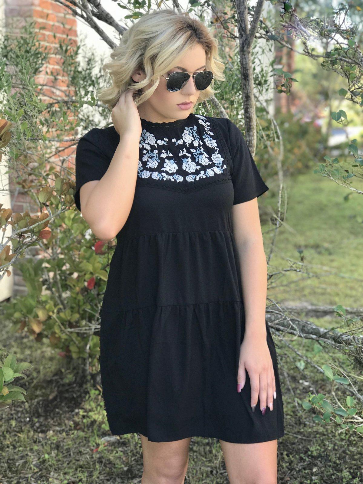 Babydoll Bib Dress