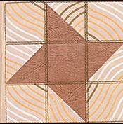 Mocha Star Quilt Journal