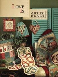 Love is Art to Heart Book by Nancy Halvorsen