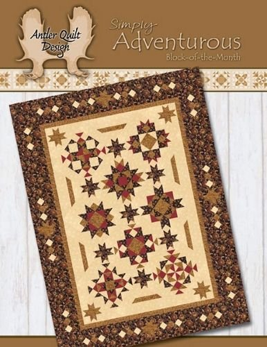 Simply Adventurous Pattern by Antler Quilt Designs
