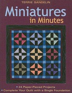 Miniatures in Minutes Book by Terrie Sandelin