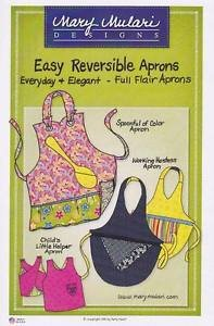 Full Flair Easy Reversible Aprons! by Mary Mulari
