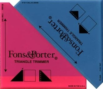 Triangle Trimmers by Fons & Porter