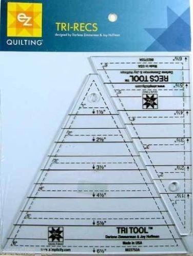 Tri-Recs Tool Set - 2 Rulers by Darlene Zimmerman & Joy Hoffman