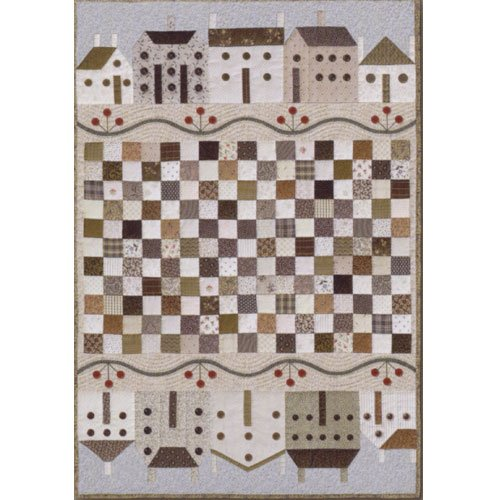 The City Stitcher #42 Button Town Quilt Pattern
