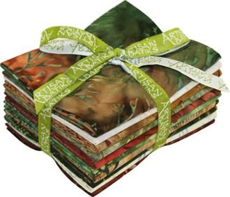 Fat Quarter Bundle - Artisan Batiks: Northwoods Forest