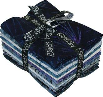 Fat Quarter Bundle - Artisan Batiks: Northwoods - Nightfall