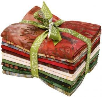 Fat Quarter Bundle - Artisan Batiks: Northwoods - Redwood