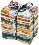 Fat Quarter Bundle - Holiday Flourish - Pine