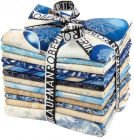 Fat Quarter Bundle - Winter's Grandeur - Indigo