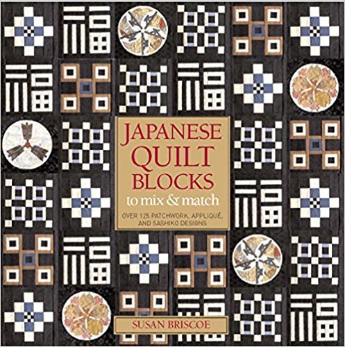 Japanese Quilt Blocks Book by Susan Briscoe