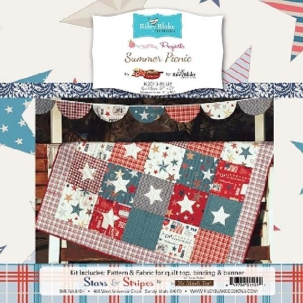 Summer Picnic Kit - Quilt Kit