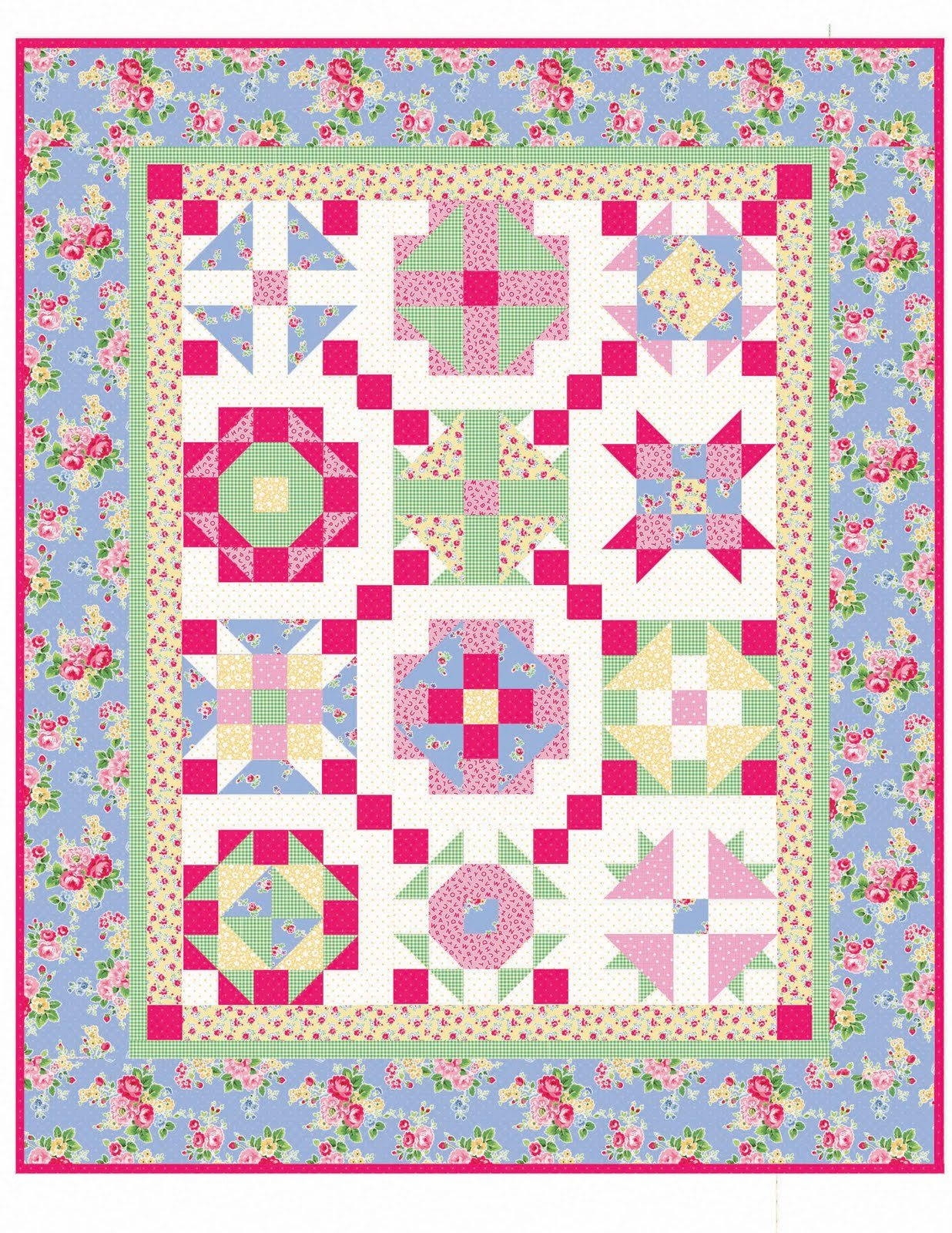 Traditions Pattern from Late Bloomer Quilts