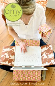 Amy Butler - Laptop Cover & MP3 Case Pattern