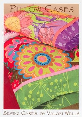 Sewing Cards - Pillow Cases by Valori Wells