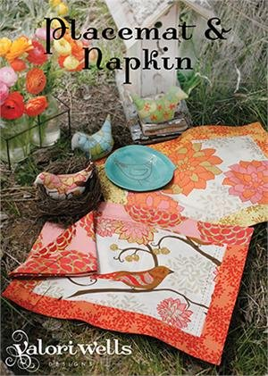 Sewing Cards - Placemat & Napkin by Valori Wells