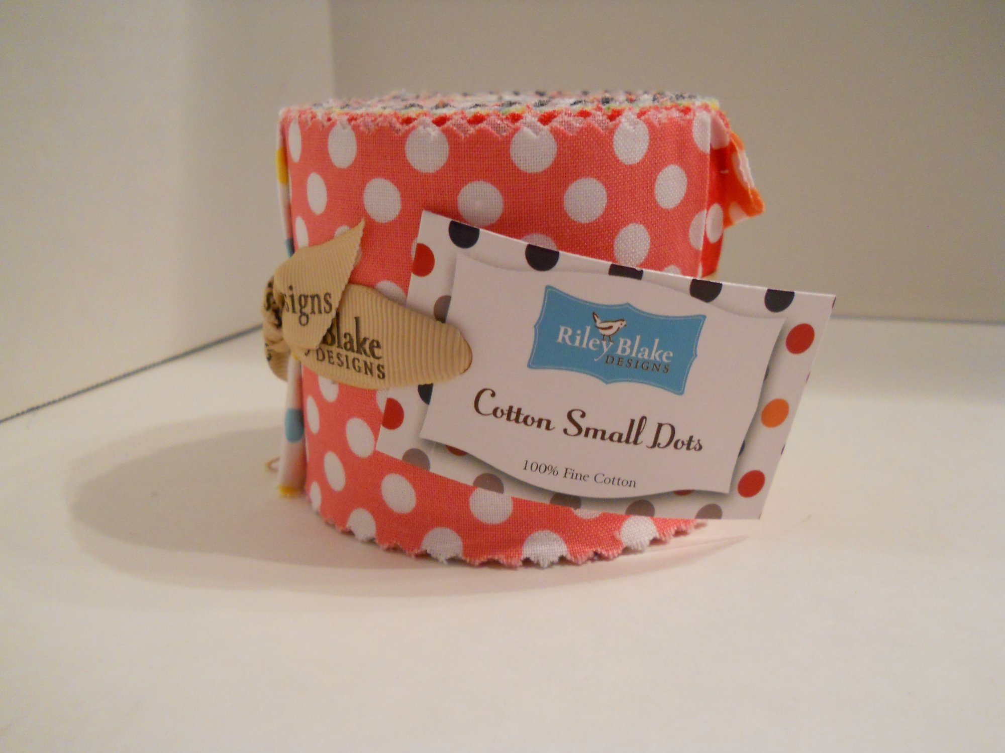 Rolie Polie - Small Dots 14 strips 2.5x 44