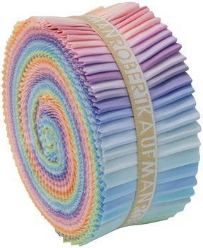 Roll Up - Kona Cotton Solids - Pastel