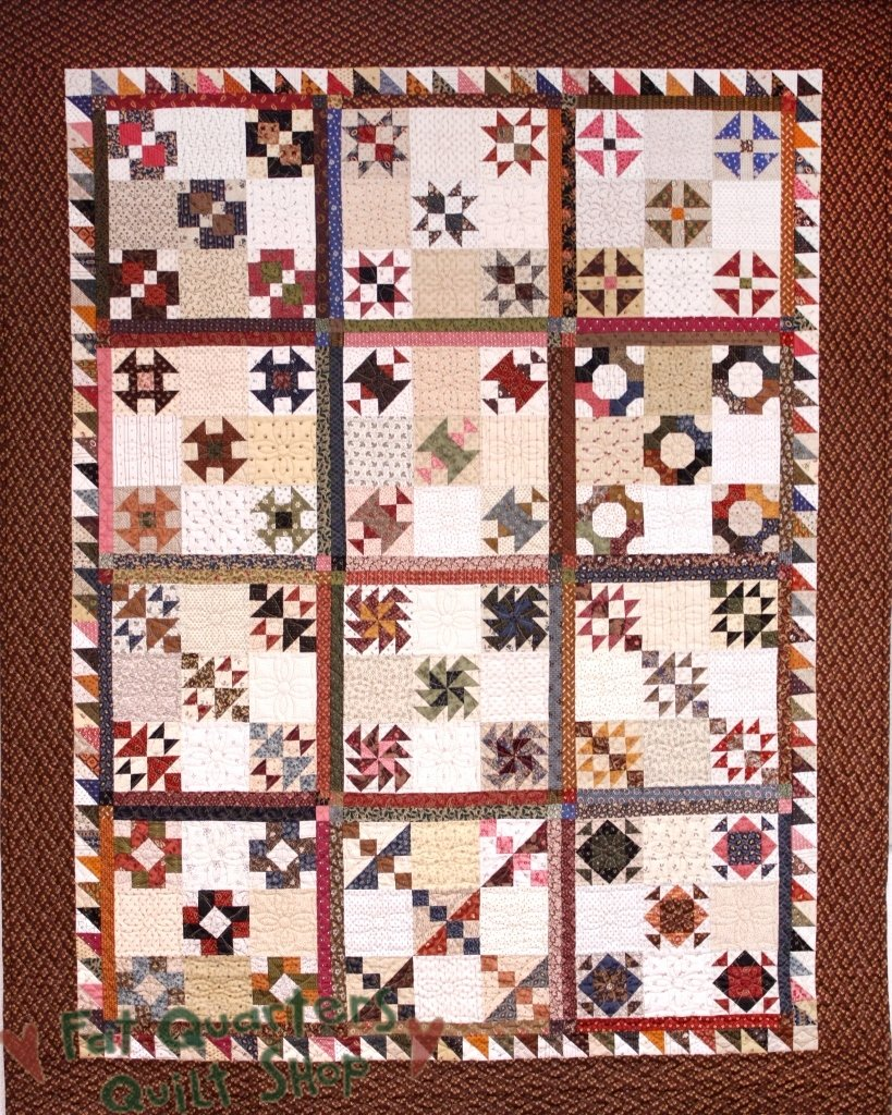 Grant's March Quilt Pattern