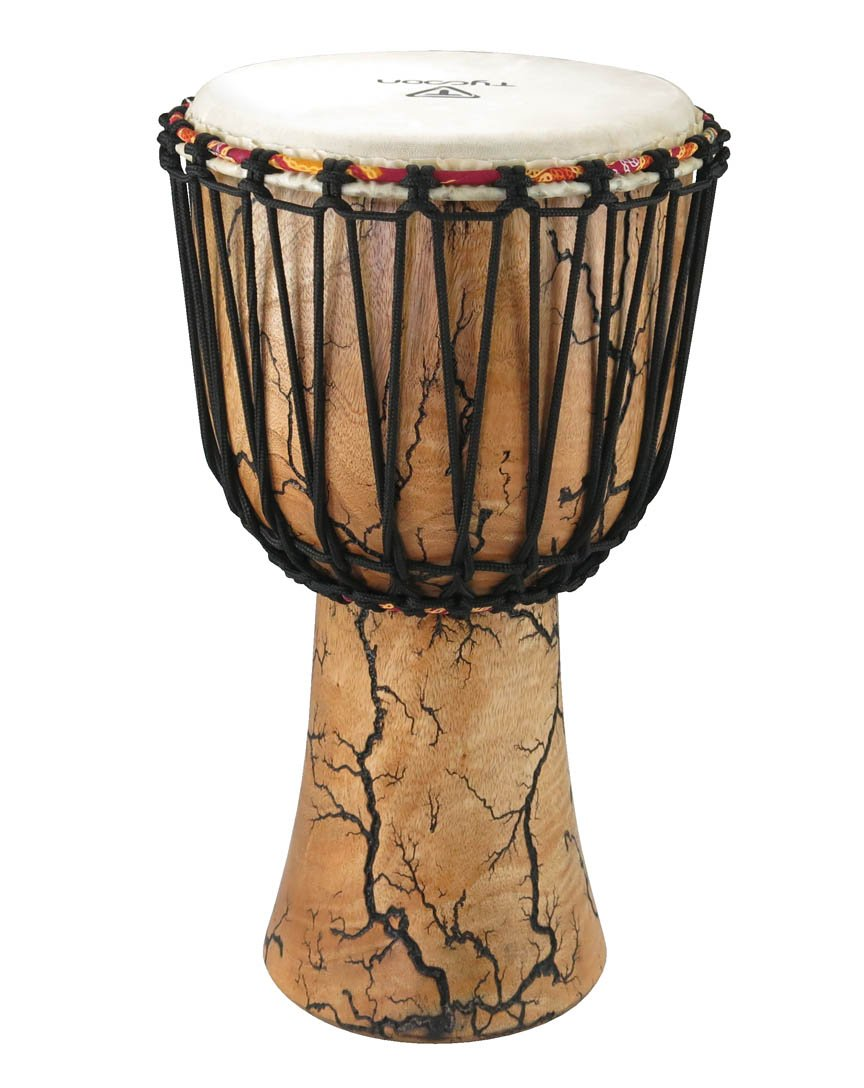TYCOON TAJS-10 WI 10 SUPREMO SELECT WILLOW SERIES ROPE-TUNED DJEMBE
