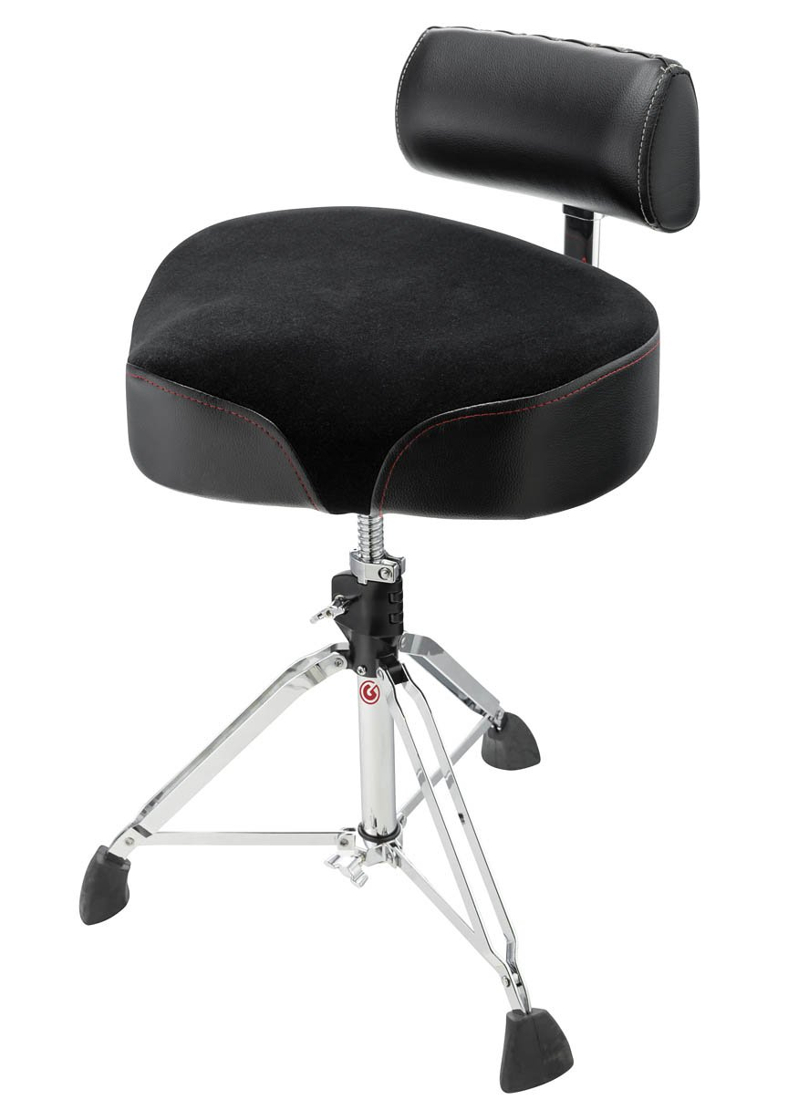 GIBRALTAR 9808OS-AB OVERSIZED SADDLE THRONE ADJUSTABLE BACK REST