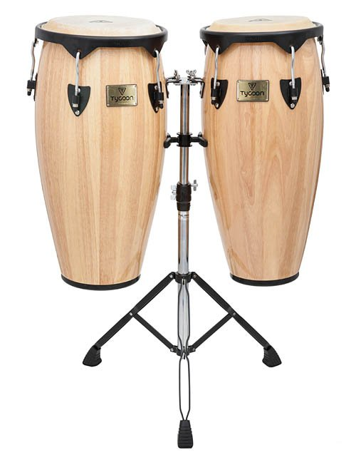 TYCOON PERCUSSION STC-1BN/D SUPREMO SERIES CONGA SET 10-11 NATURAL