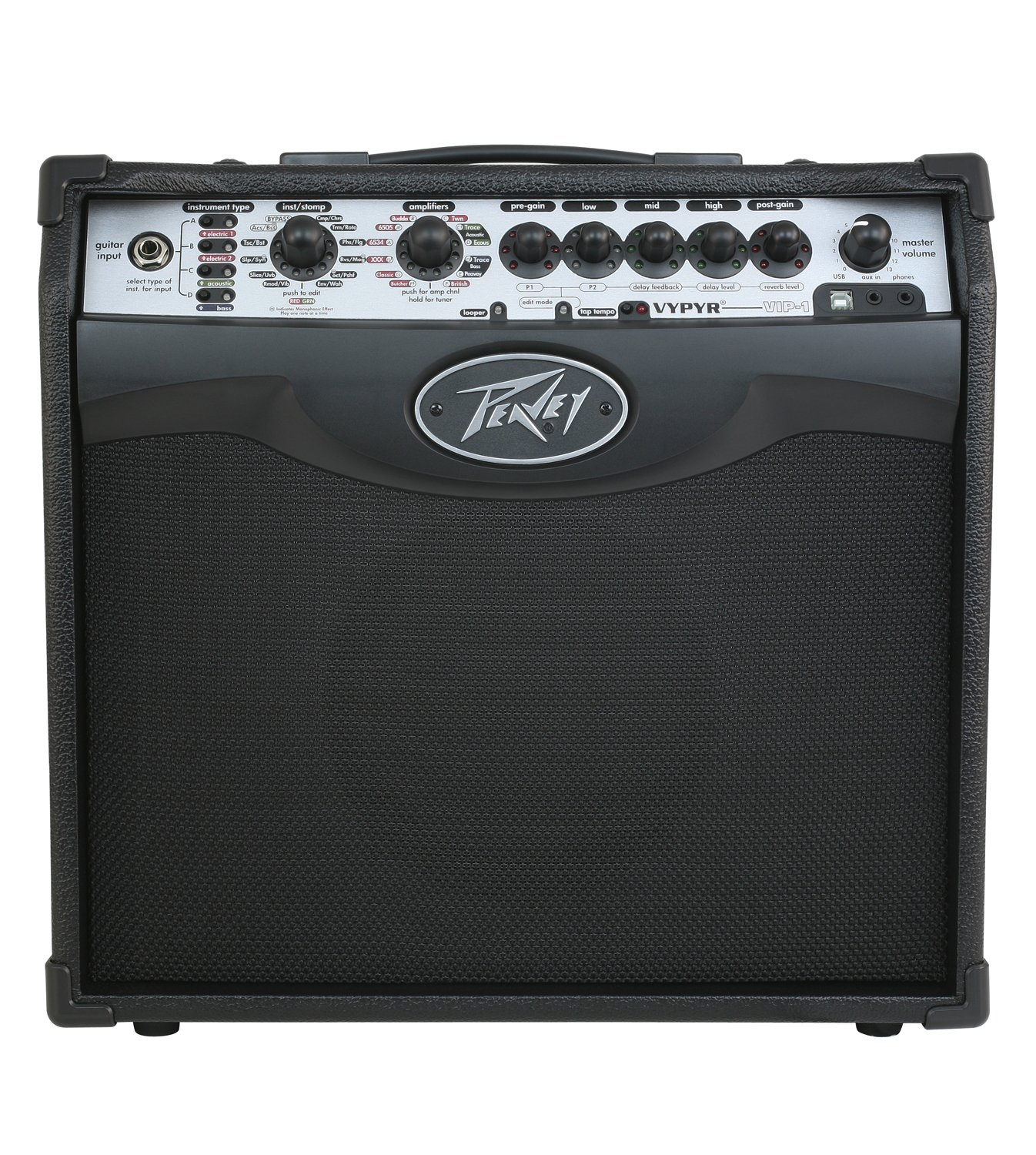 PEAVEY VYPYR VIP 1 MODELING GUITAR COMBO AMPLIFIER 1x8 20W (03608060)