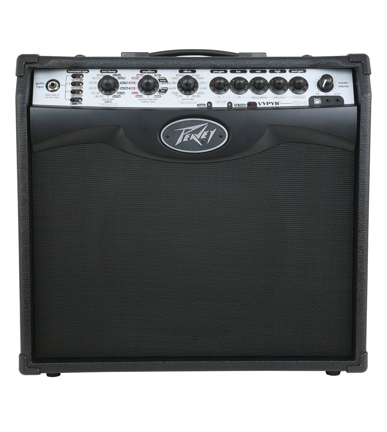 PEAVEY VYPYR VIP 2 MODELING GUITAR COMBO AMPLIFIER 1x12 40W (03608080)