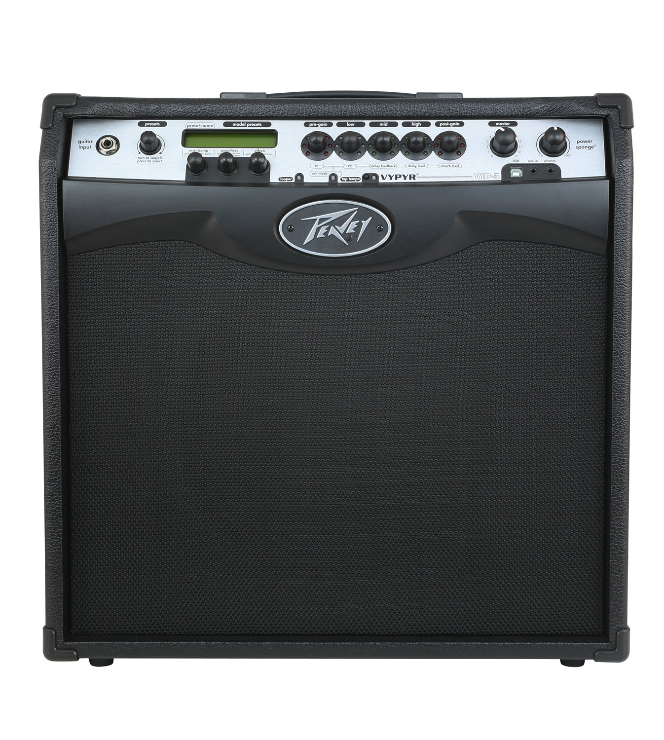 PEAVEY VYPYR VIP 3 MODELING GUITAR COMBO AMPLIFIER 1x12 100W (03608160)
