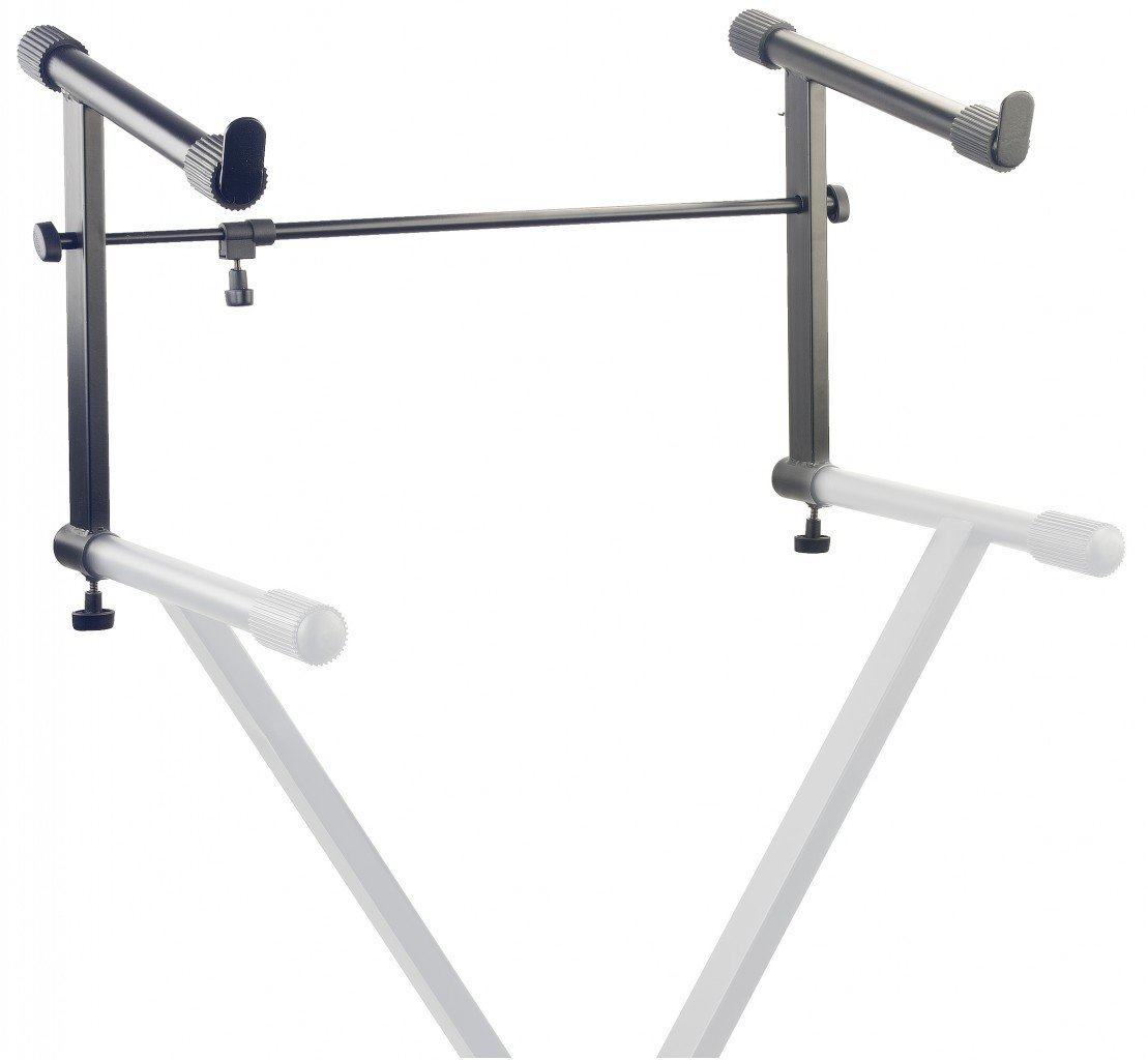 STAGG KXS-AE KEYBOARD STAND DOUBLE ATTACHMENT (UNIVERSAL)
