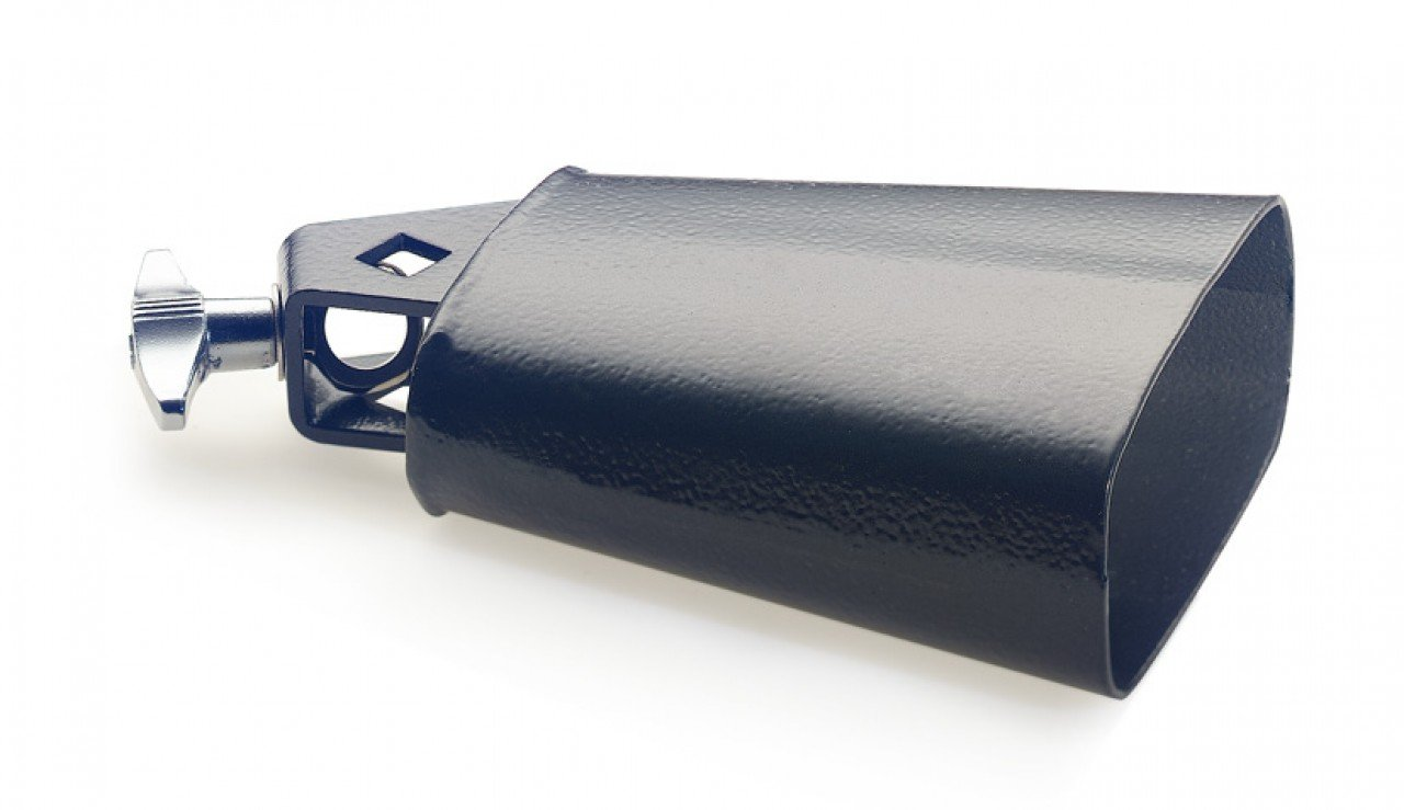 STAGG CB304BK COWBELL BLACK 4 1/2 (MOUNTABLE)