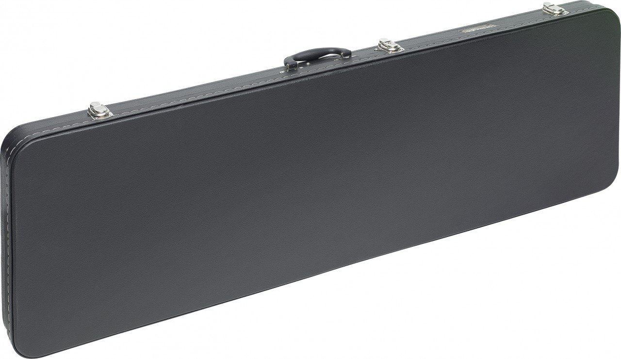 STAGG GEC-RB GUITAR CASE HARDSHELL FOR BASS BLACK