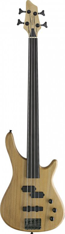 STAGG BC300FL-NS BASS GUITAR FRETLESS FUSION NATURAL