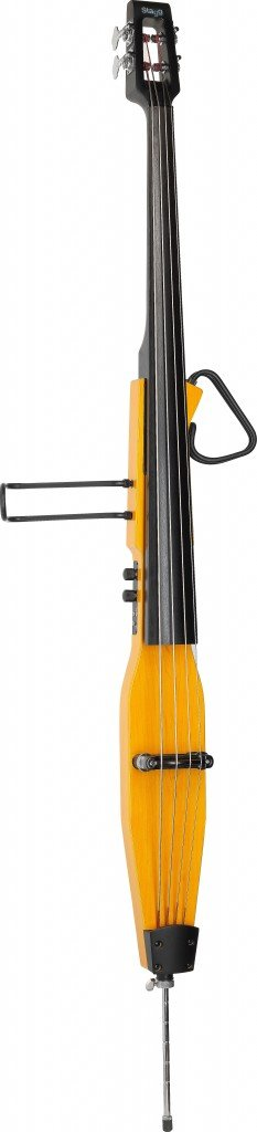 STAGG EDB-3/4 H ELECTRIC UPRIGHT BASS W/GIGBAG HONEY