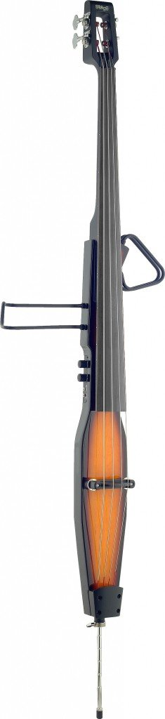 STAGG EDB-3/4 VBR ELECTRIC UPRIGHT BASS W/GIGBAG VIOLIN BURST