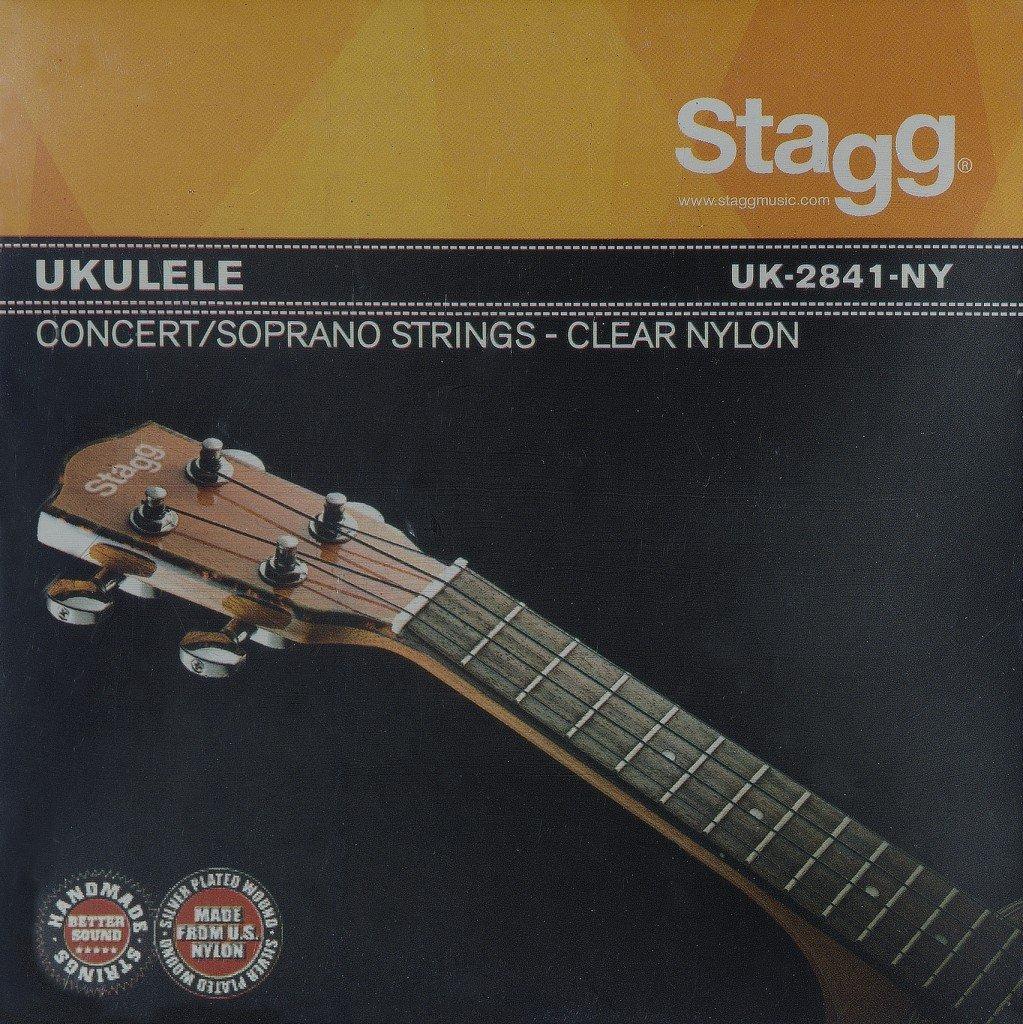 STAGG UK-2841-NY STRING SET FOR UKULELE (SOPRANO & CONCERT)