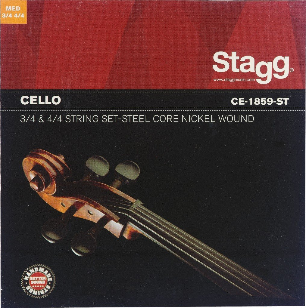 STAGG CE-1859-ST STRING SET FOR CELLO (4/4 & 3/4 SIZE)